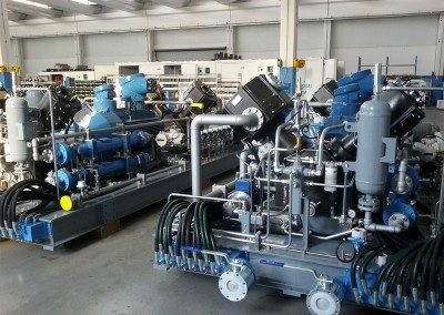 GasVector компрессор модуллари
