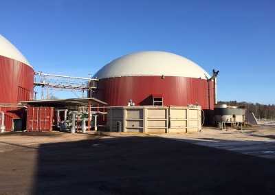 Biogas upgrading plant sweden